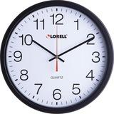 "LLR61008 - Lorell 12-1/2"" Slimline Wall Clock"