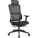 LLR81998 - Lorell High Back Mesh Chair w/ Headrest