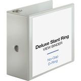 BSN62473 - Business Source Slant D-ring Presentation Binde...
