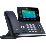 Yealink SIP-T54W IP Phone - Corded - Corded/Cordless - Wi-Fi, Bluetooth - Wall Mountable, Desktop - Classic Gray