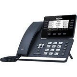 Yealink T53 IP Phone - Corded/Cordless - Corded - DECT, Bluetooth - Wall Mountable, Desktop - Classic Gray