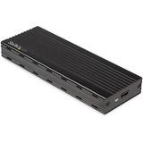 StarTech.com USB-C (10Gbps) to M.2 NVMe SSD Enclosure - Portable M.2 PCIe Aluminum Case - 1GB/s Read & Write - Mac & PC