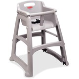 RCP780608PLAT - Rubbermaid Commercial Sturdy Chair Youth High...