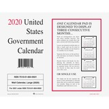 UCR6649501 - Unicor Monthly Wall Calendar