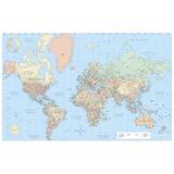 AVT97644 - Advantus Laminated World Wall Map