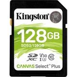 Kingston Canvas Select Plus 128 GB Class 10/UHS-I (U3) SDXC