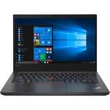 "Lenovo ThinkPad E14 20RA004YUS 14"" Notebook - 1920 x 1080 - Intel Core i5 (10th Gen) i5-10210U Quad-core (4 Core) 1.60 GHz - 8 GB RAM - 256 GB SSD - Black"
