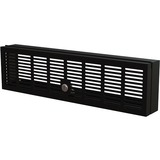 """StarTech.com 3U 19"""" Rack Mount Security Cover - Hinged Locking Panel/ Cage/ Door for Server Rack/Network Cabinet Security & Access Control"""