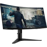 "Lenovo G34w-10 34"" UW-QHD Curved Screen WLED Gaming LCD Monitor - 21:9 - Black"