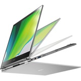 """Acer Spin 5 SP513-54N SP513-54N-56M2 13.5"""" Touchscreen 2 in 1 Notebook - 2256 x 1504 - Intel Core i5 (10th Gen) i5-1035G4 Quad-core (4 Core) 1.10 GHz - 16 GB RAM - 512 GB SSD - Steel Gray"""