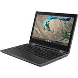 "Lenovo 300e Chromebook 2nd Gen 82CE0007US 11.6"" Touchscreen 2 in 1 Chromebook - HD - 1366 x 768 - AMD A-Series A4-9120C Dual-core (2 Core) 1.60 GHz - 4 GB RAM - 32 GB Flash Memory - Black"