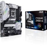 Asus Prime Z490-A Desktop Motherboard - Intel Chipset - Socket LGA-1200