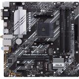 Asus Prime B550M-A (WI-FI) Desktop Motherboard - AMD Chipset - Socket AM4