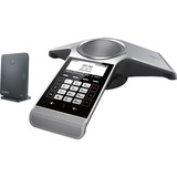 Yealink IP Conference Station - Corded/Cordless - DECT, Bluetooth - Desktop - Space Silver, Classic Gray