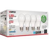 SDNS28563 - Satco 10W A19 LED 5000K Light Bulbs