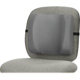 "Fellowes Standard Back Rest - Graphite - Adjustable Strap - 13"" x 4"" x 12"" - Graphite FEL91926"