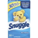 DIA45115 - Dial Snuggle Blue Sparkle Dryer Sheets