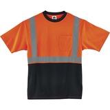 EGO22518 - GloWear 8289BK Type R Class 2 Front T-Shirt