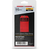 AVE62429 - Avery® Preprinted OUT OF SERVICE Red Serv...