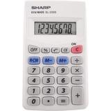 SHREL233SB - Sharp Calculators EL-233SB 8-Digit Pocket Ca...