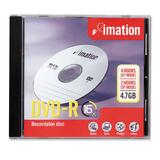 Imation DVD Recordable Media - DVD-R - 16x - 4.70 GB - 1 Pack Jewel Case