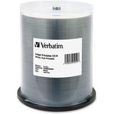 VER95252 - Verbatim CD-R 700MB 52X White Inkjet Printable,...
