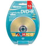 Memorex DVD Recordable Media - DVD+R - 16x - 4.70 GB - 10 Pack Blister Pack