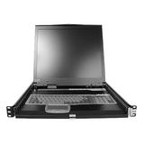 StarTech.com 1U 19 Rackmount LCD Console w/ KVM Switch Module