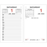 AAGE01750 - At-A-Glance Daily Two-Color Desk Calendar Ref...