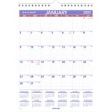 AAGPM128 - At-A-Glance Recycled Monthly Wall Calendar