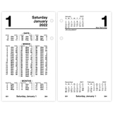 AAGS17050 - At-A-Glance Financial Daily Desk Calendar Ref...