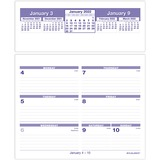 AAGSW705X50 - At-A-Glance Flip-A-Week Desk Calendar Refill