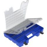 "Akro-Mils Portable Organizer - External Dimensions: 13.4"" Width x 18.3"" Depth x 3.6"" Height - Latchi AKM06118"