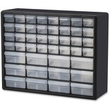 """Akro-Mils 44-Drawer Plastic Storage Cabinet - 44 Compartment(s) - 15.8"""" Height x 6.4"""" Depth - Wall M AKM10144"""