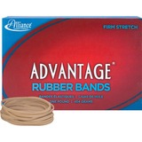 """Alliance Advantage Rubber Bands, #33 - Size: #33 - 3.50"""" Length x 0.13"""" Width - 1 / Box - Natural ALL26335"""
