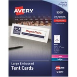 AVE5309 - Avery® Printable Large Tent Cards, Embos...