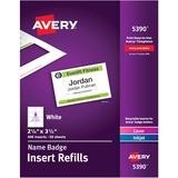 AVE5390 - Avery® Laser/Inkjet Badge Insert Refills