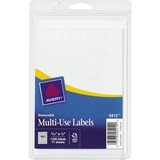 "Avery Handwritten Removable ID Label - Removable Adhesive - ""0.31"" Width x 0.50"" Length - Rectangle  AVE05412"