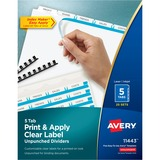 AVE11443 - Avery® Index Maker Print & Apply Clear Lab...