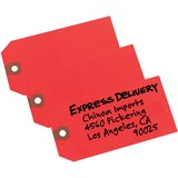 AVE12345 - Avery® Shipping Tags, Red, Unstrung, 4-...