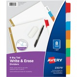 AVE23079 - Avery Big Tab Write & Erase Paper Dividers