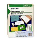 PRES-a-ply™ Laser Address Labels, 1 x 4, White, 5000/Box AVE30607