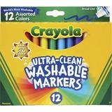 CYO587812 - Crayola Classic Washable Markers