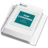 C-Line Poly Top-loading Sheet Protectors