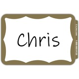 C-Line Self-adhesive Color Border Name Badges