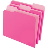 PFX15213PIN - Pendaflex 1/3-cut 2-tone File Folders