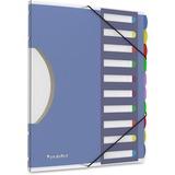 "Pendaflex PileSmart Project Sorter - 10 x Divider(s) - 10 Tab(s) - 8.50"" Divider Width x 11"" Divider PFX50995"