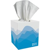 "Georgia-Pacific Preference Facial Tissue - 2 Ply - 7.65"" x 8.85"" - White - Soft, Absorbent - 100 She GPC46200"