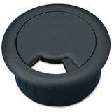 Master Adjustable Cable Management Grommet - Grommet - Black MAS00203