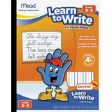 "Mead Acadamie Raised Ruling Writing Tablet - 40 Pages - Printed 8"" x 10"" - White Paper - 1Each MEA48556"